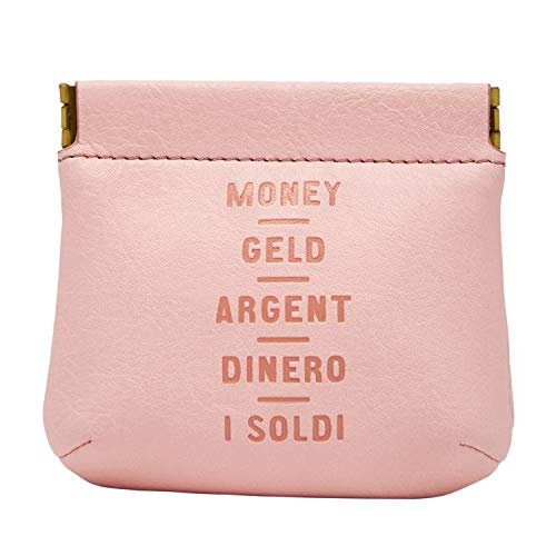 Fossil Coin Pouch Pastel Pink - Coin Fossil