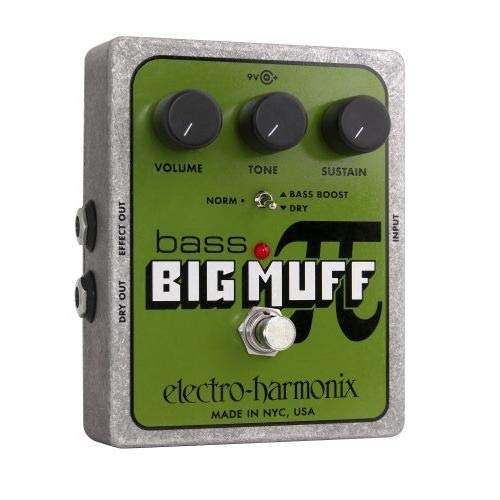 Electro-Harmonix Bass Big Muff Distortion Pedal