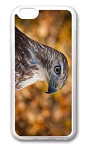 MOKSHOP Adorable hawk head Soft Case Protective Shell Cell Phone Cover For Apple Iphone 6 Plus (5.5 Inch) - TPU Transparent