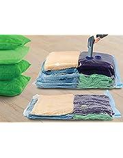 KEPLIN Vakuum förvaringspåse, 70 x 50 cm, 9 stycken (80 % mer kompression än konkurrenser), bästa tätningspåsen för kläder, täcken, sängkläder, kuddar, filtar, gardiner