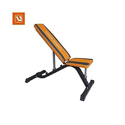 LiveUP Sports - Banco Musculación Inclinación Mancuernas Pesos Entrenamiento Fitness Gym Sit-UP Bench