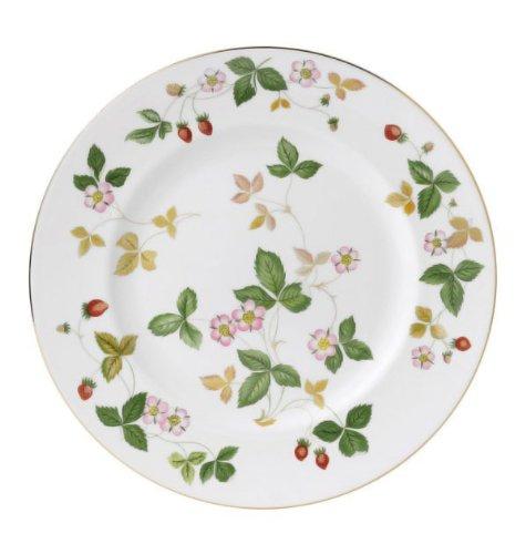 "Wild Strawberry Wedgewood Fine Bone China Dinner Plate 10.75"""