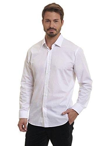 Robert Graham Talbot Lago Printed Graphic Woven Shirt Classic Fit White Large