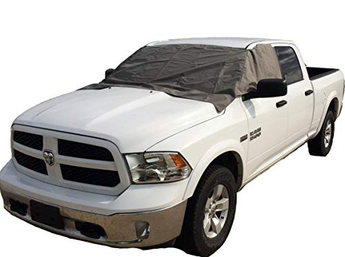 Winter Windshield Cover - Gray (Pickup Windshield)