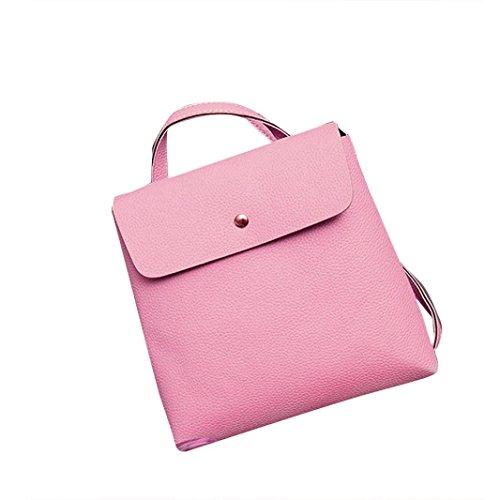 Women Sling Bags Outdoor Sport Crossbody Bag Multi Functional Sling Backpack Rucksack (pink) (Scented Gardens For The Blind)