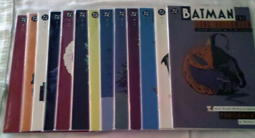 Batman The Long Halloween (Batman The Long Halloween A Dark Knight Halloween Special CRIME in Thirteen Parts, 1-13)