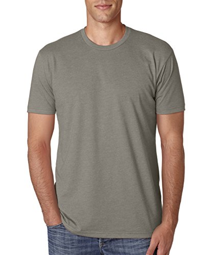Next Level N6210 T-Shirt, Black + Warm Grey (2 Pack), -