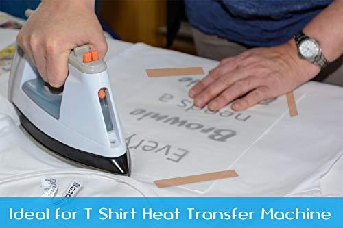 Selizo 5 Pack Heat Tape Hight Temp Tape Sublimation Heat - Import It