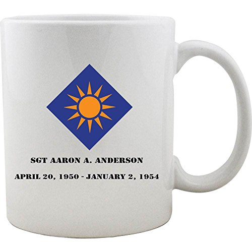 (Customizable Army 40th Infantry Division 11oz. Coffee Mug)