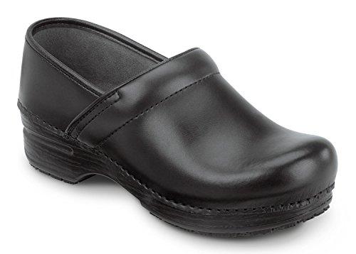 Dankso MaxTrax Slip Resistant Clog (37, Black - Slip Box