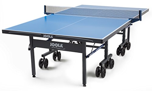 JOOLA Nova Pro Plus Indoor/Outdoor Table Tennis Table with Weatherproof Net Set and 6in Caster Wheels from JOOLA