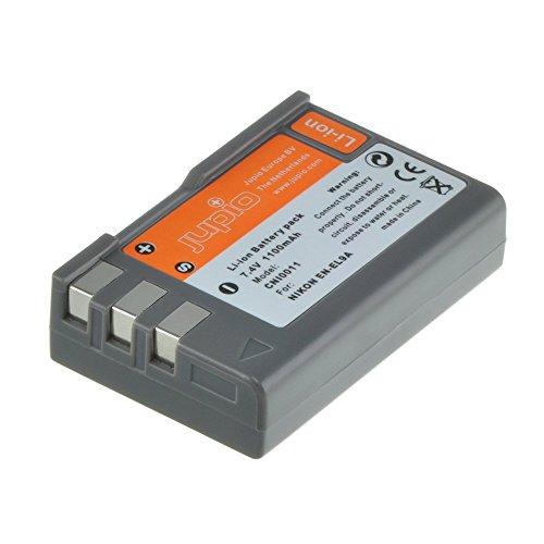 Jupio Digital Camera Replacement Battery for Nikon EN-EL9, Grey (CNI0011) by JUPIO