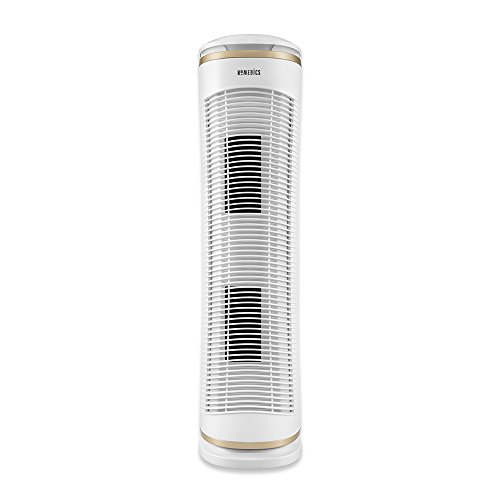 HoMedics  TotalClean PetPlus HEPA Air Purifier | Triple Filtration, Programmable Timer, Whisper-Quiet, Filters Included | Removes Up To 99.97% of Contaminants, Large Filtration Capacity