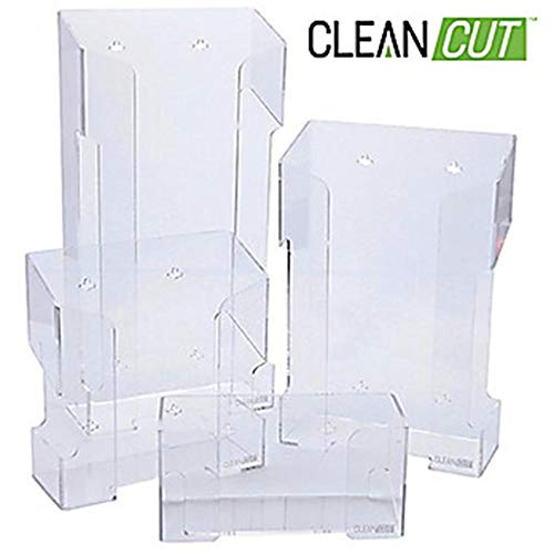 10a5cc102806 Argos Technologies ACH12 CleanCut Acrylic Safety Glasses Holder 12-Unit,  12.25