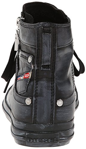 Expo a Zip Diesel Magnete Nero Alto T8013 Donna Black Collo Sneaker 1n7Oqx76