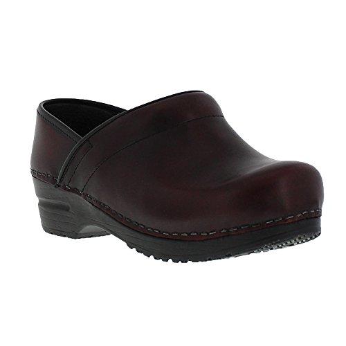 - Sanita Cabrio Wide Bordeaux in Brush-Off Leather