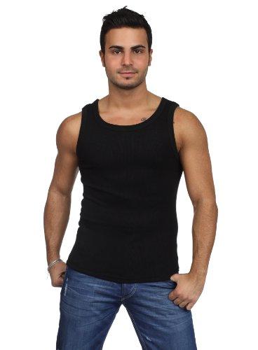 Urban Classics - Mens Tanktop TB066 T-Shirt Männer Schwarz Größe S