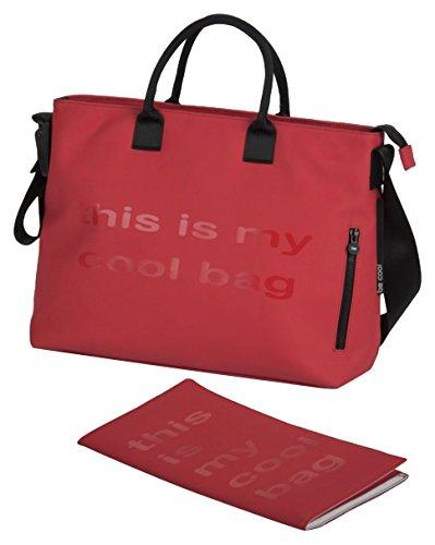 Be Cool Mamma Bag - Bolso cambiador, color marrón Rojo