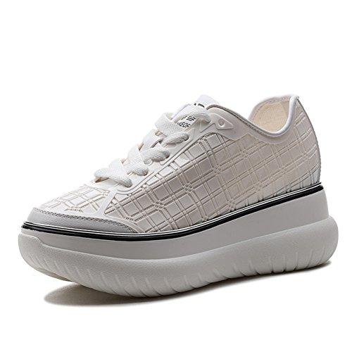 Señora zapatos planos/Joker blanco zapatos de primavera verano/Calzado deportivo y ocio B