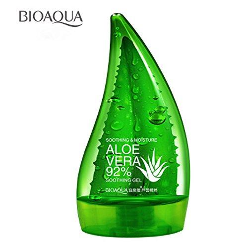BIOAQUA ALOE VERA 92% Soothing Gel 160ml Cream Liquid High Moisturizing