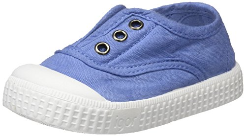 IGOR berri, Zapatillas Sin Cordones Unisex Niños Azul (Jeans)