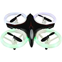 Mini Drone, Rucan 2.4Ghz 4CH 6-Axis GYRO UFO RC Quadcopter Headless LED Attitude Hold