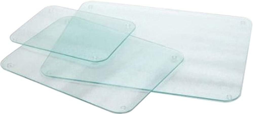 /Bleu clair/ /60/x 40/cm Protection pour plan de travail en verre tremp/é Extra Large/