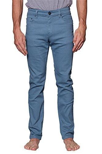 Victorious Men's Skinny Fit Color Stretch Jeans DL937 - FRENCHBLUE - 32/30