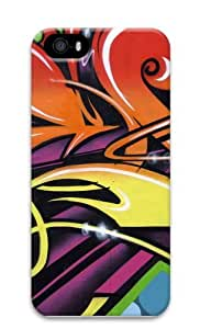 Graffiti Wall1 Polycarbonate Hard Case Cover for iPhone 5/5S 3D