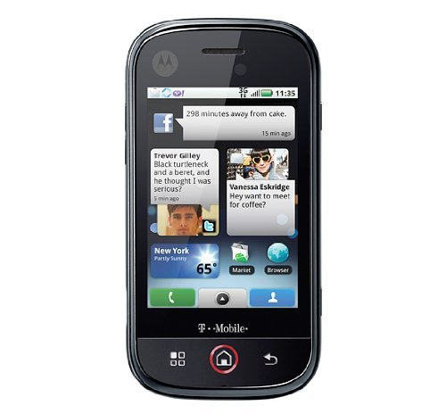- Motorola Dext CLIQ 3G Wi-Fi 5 MP Qwerty Keyboard Android Quad-Band GSM Unlocked Cell Phone - Unlocked Phone - US Warranty - Black