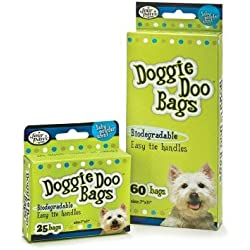 Doggie Doo Bags [Set of 3] Quantity: 25 Counts