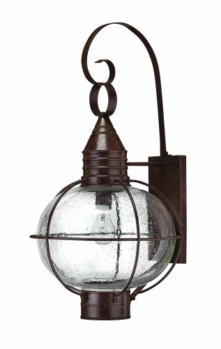 Hinkley 2205SZ, Cape Cod Outdoor Wall Sconce Lighting, 100 Total Watts, (Cape Cod Outdoor Fixture)