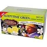 Celestial Seasonings, Green Tea, Decaf, Sleepytime, Lemon Jasmine, 1.1oz Box (Pack of 3) (Pack of For Sale
