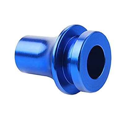 Dewhel SHIFT KNOB BOOT RETAINER/ADAPTER FOR MANUAL GEAR SHIFTER LEVER 10X1.5 Color Blue: Automotive
