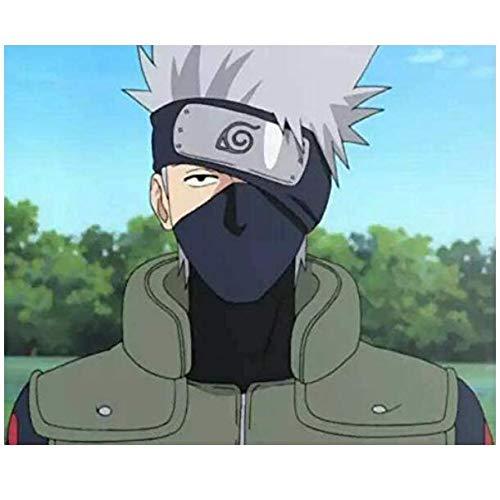 Jebester Naruto Leaf Village - Diadema para Disfraz de Ninja (2 Unidades)