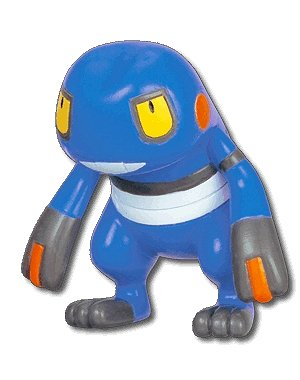 with Stand ~1.5 to 2 Pokemon Croagunk Diamond and Pearl Pikachu The Movie 10th Anniversary Mini-Figure Japanese Imported