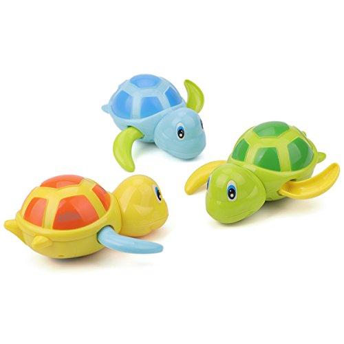 Zelta Wind Up Bath Toys Clockwork Turtle Swimming