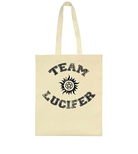 Team Lucifer Pentagram High School Art Tote Bag