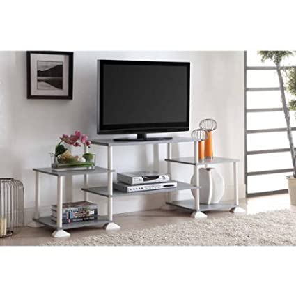 Amazon Com Mainstays 40 Inches Contemporary Plasma Lcd Tv Stand