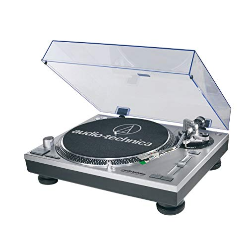Audio-Technica ATLP120USB Direct Drive Professional USB Turntable - (Silver) (Record Turntable Usb)