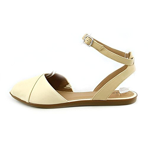 Alfani Womens Maloree Leather Two-Piece Sandals Buttermilk nxE7Os4c