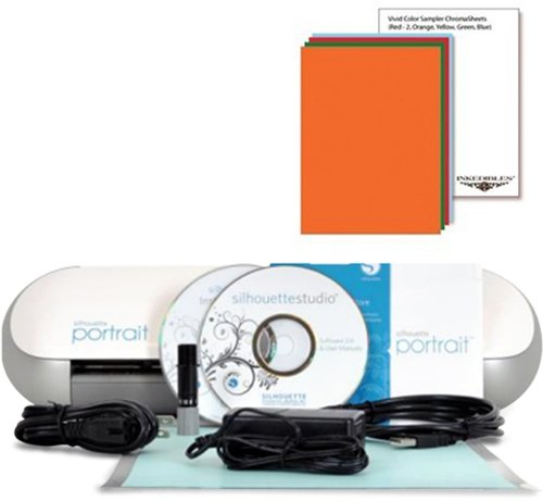 YummyInks ™ Brand: Silhouette Portrait Cutter Set with 10 ChromaSheets