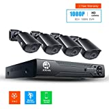 Product review for JOOAN 2MP AHD Security Camera System 4 X 1080P Weatherproof AHD Camera with 3.6mm Lens And 1080N 8CH DVR Recorder Support AHD/TVI/CVBS- No Hard Drive