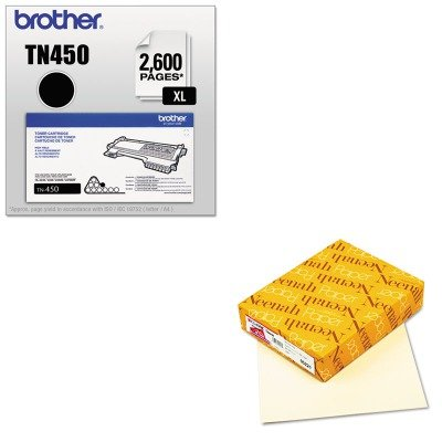 KITBRTTN450NEE05221 - Value Kit - Neenah Paper Classic Linen Stationery Writing Paper (NEE05221) and Brother TN450 TN-450 High-Yield Toner (BRTTN450) by Neenah