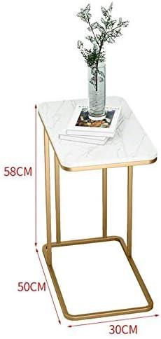 安定した ベッドルームのための強力な支持力、研究、などとのベッドサイドテーブルモダン・メタルベッドサイドサイドテーブル ファッション (Color : C)
