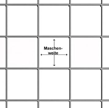 10m, 100cm, 1,20mm dick Volierendraht 19x19mm Schwarz Maschendraht 4-Eck Drahtgitter Drahtzaun