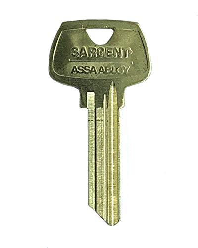 - Sargent 6 Pin Key Blank 6275 LL Keyway, Pkg of 10, Factory Original