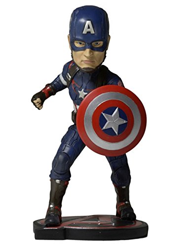 NECA Avengers Age of Ultron (Movie) - Head Knocker - Captain America