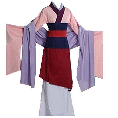 Hua Mulan Princess Cosplay Costume