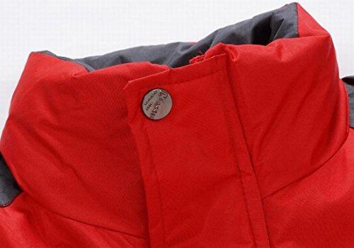 L Esterno Rossa Giù Giacche Da Colletto Noi Montagna Sci Alla Eku Caldo Coreana PwTHxqRSg